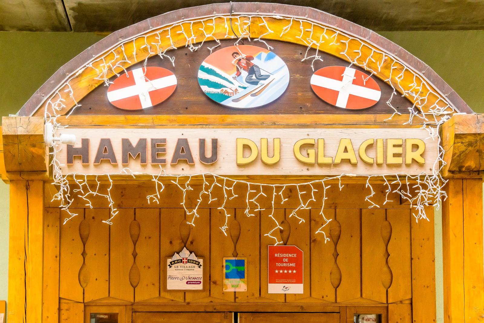 Hameau du Glacier in summer