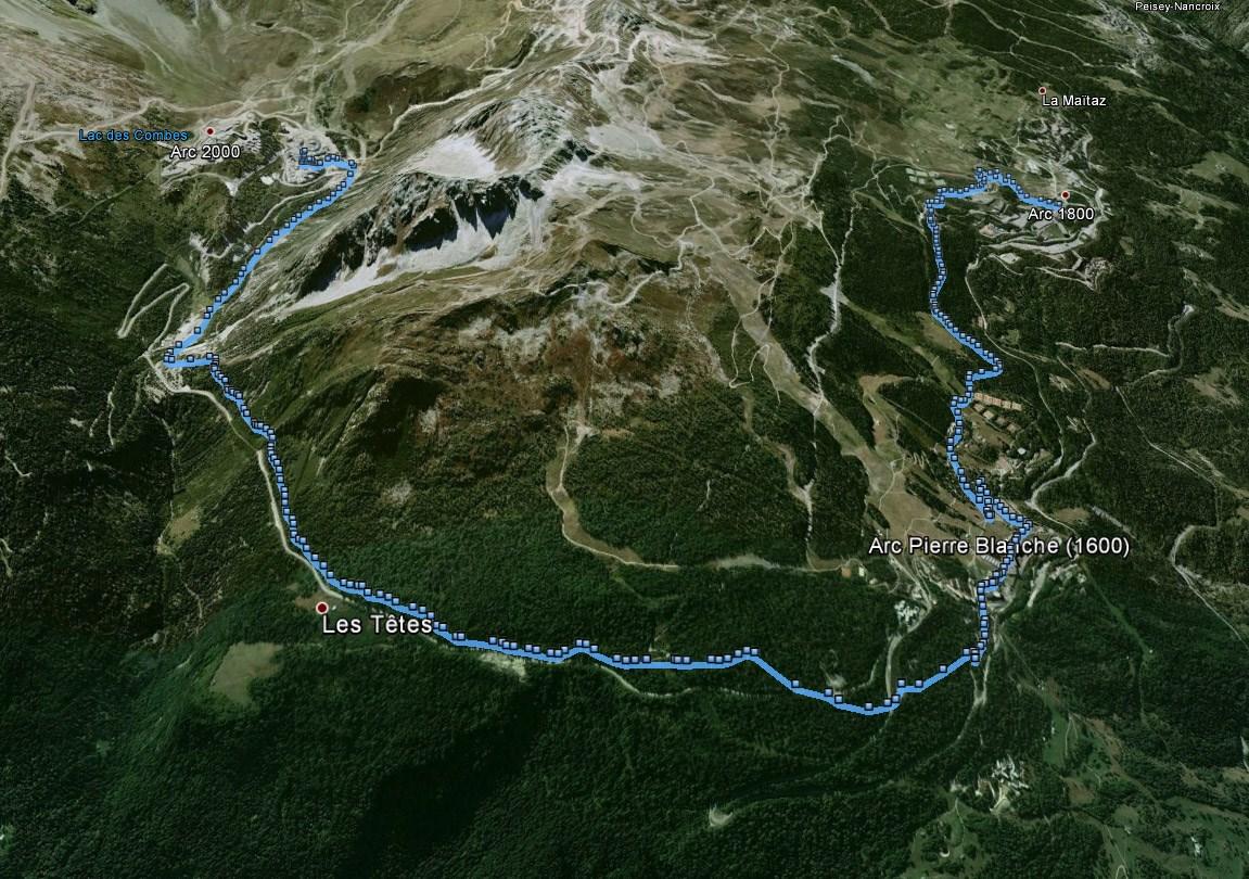 Le parcours du Star Trail