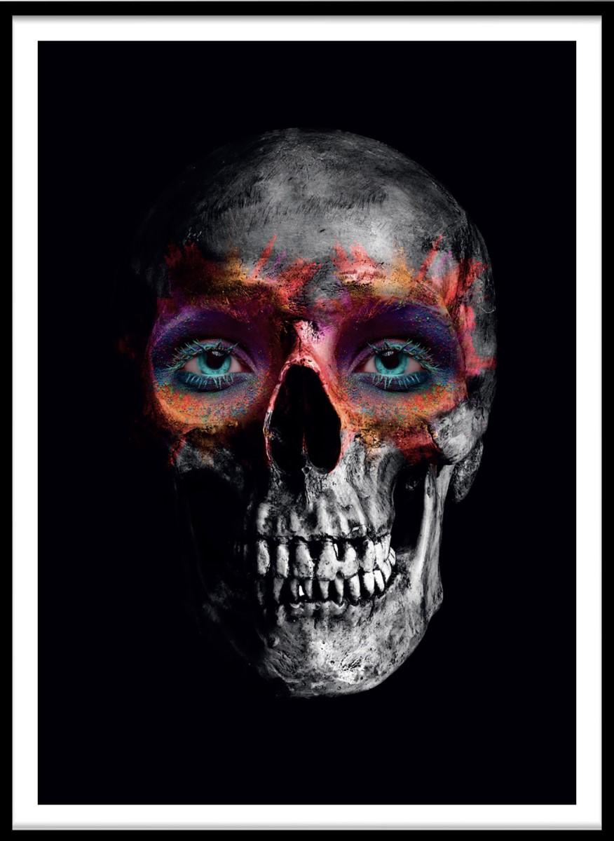 Portrait - Tête de mort