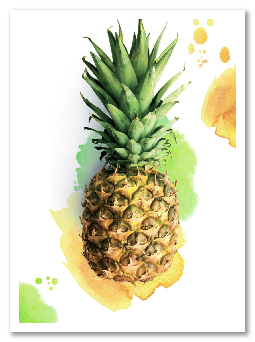 Ananas - Couleur