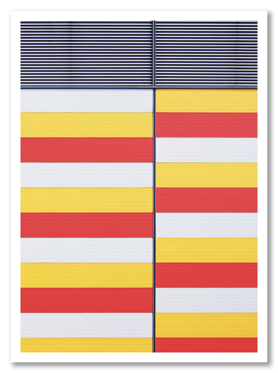 Abstrait - Mur Métalique