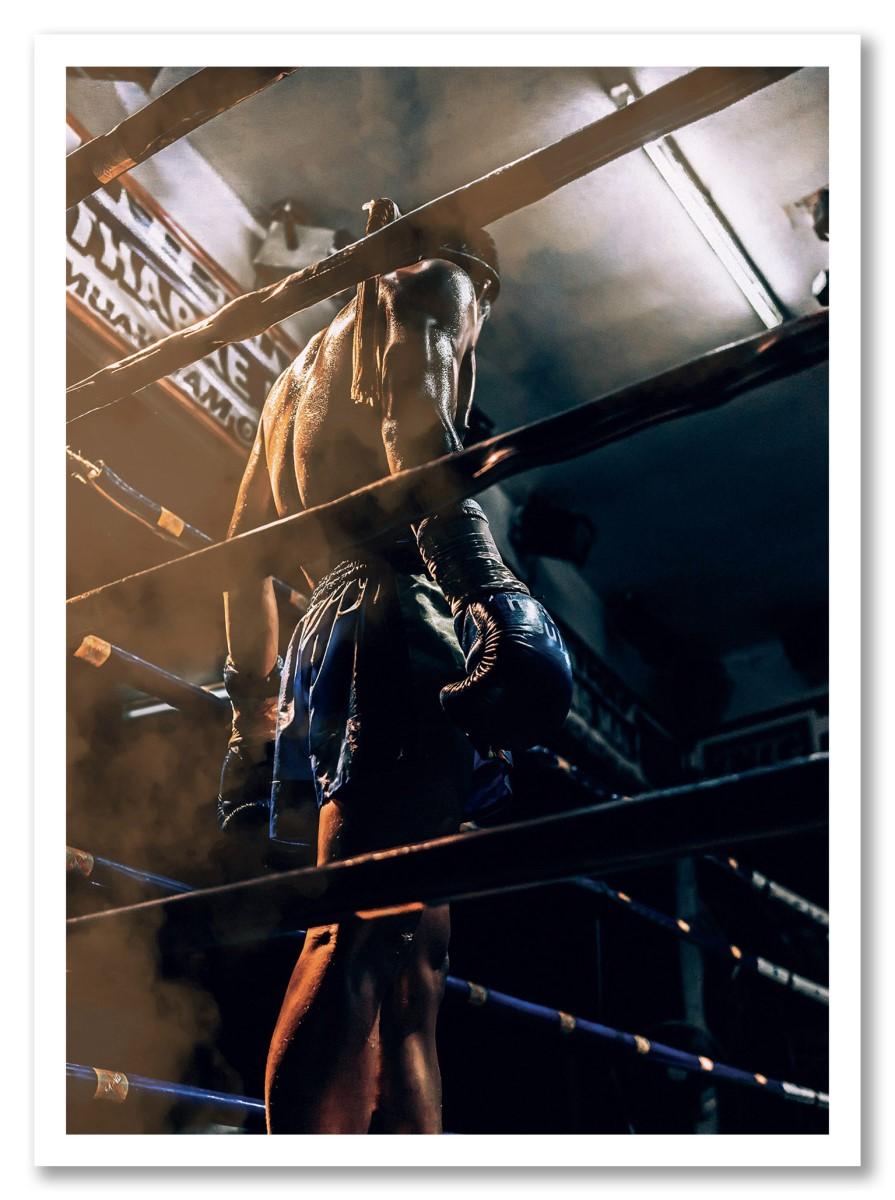 Sports - Boxeur Couleur