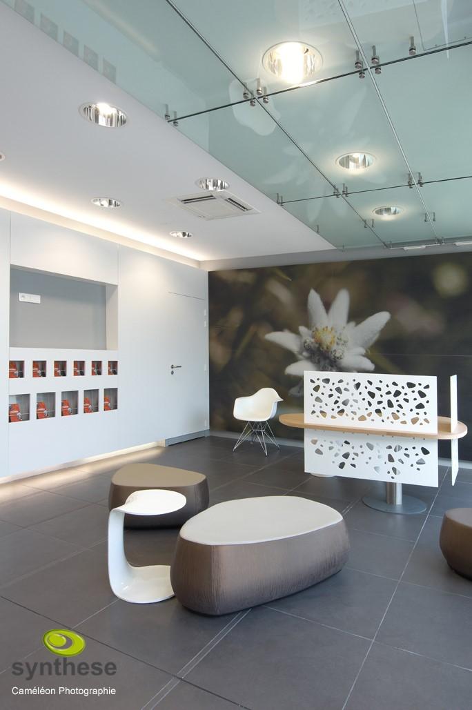 Verre structurel et verre décoratif