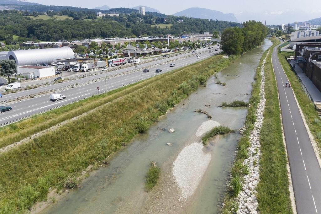 Diversification du lit de la rivière