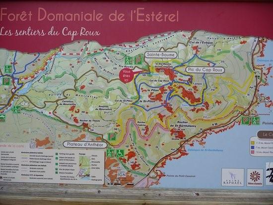 Esterel tourisme