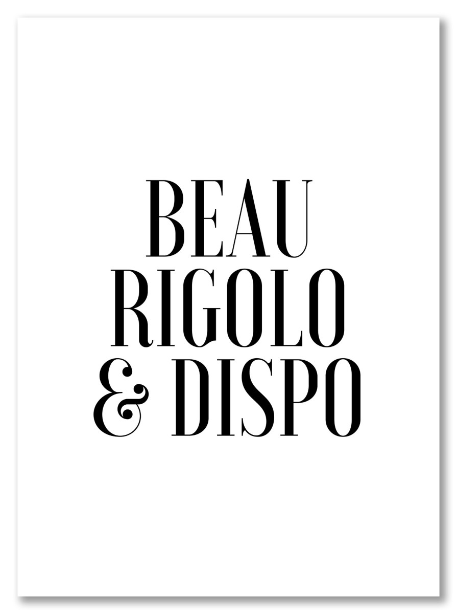 Cuisine - Beau, Rigolo et Dispo