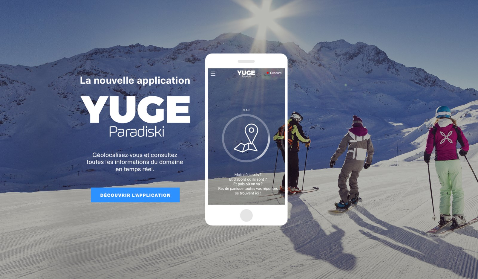 Paradiski ski area in your pocket