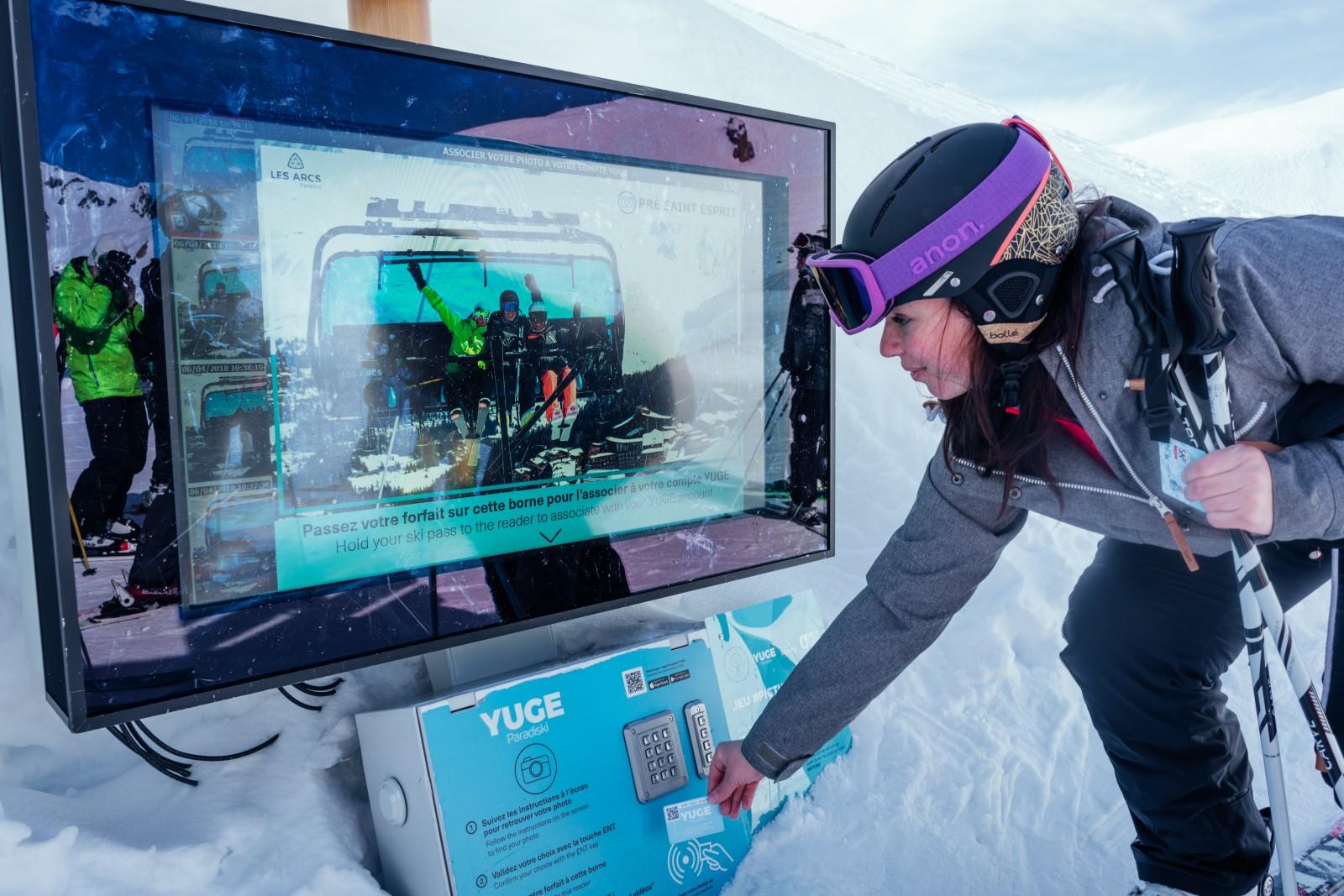 l'application Paradiski Yuge, pour vivre le domaine skiable Les Arcs - Paradiski en grand