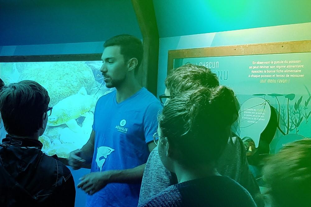 ©Aqualis-Remi-Masson - Visite commentée par les médiateurs d'Aqualis