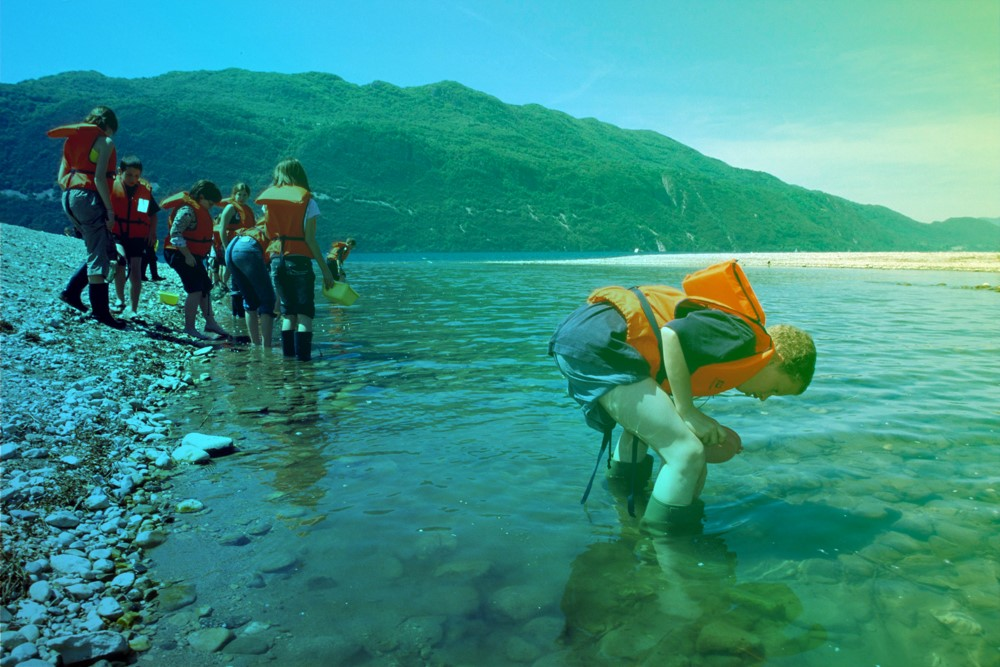 aqualis - Pêche à la macrofaune dans le lac du Bourget