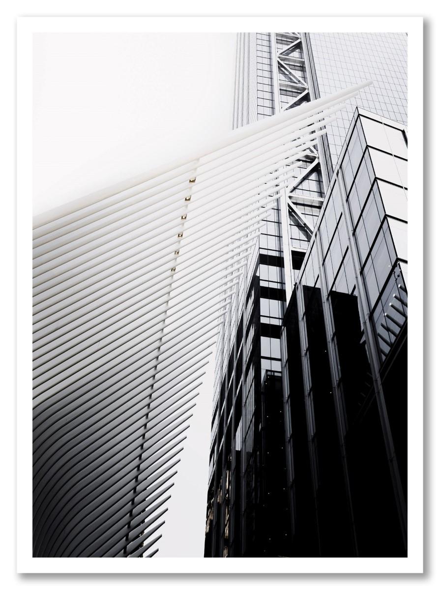 Architecture - Gratte ciel noir et blanc