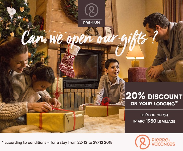 Christmas in Arc 1950 and Pierre & Vacances Premium