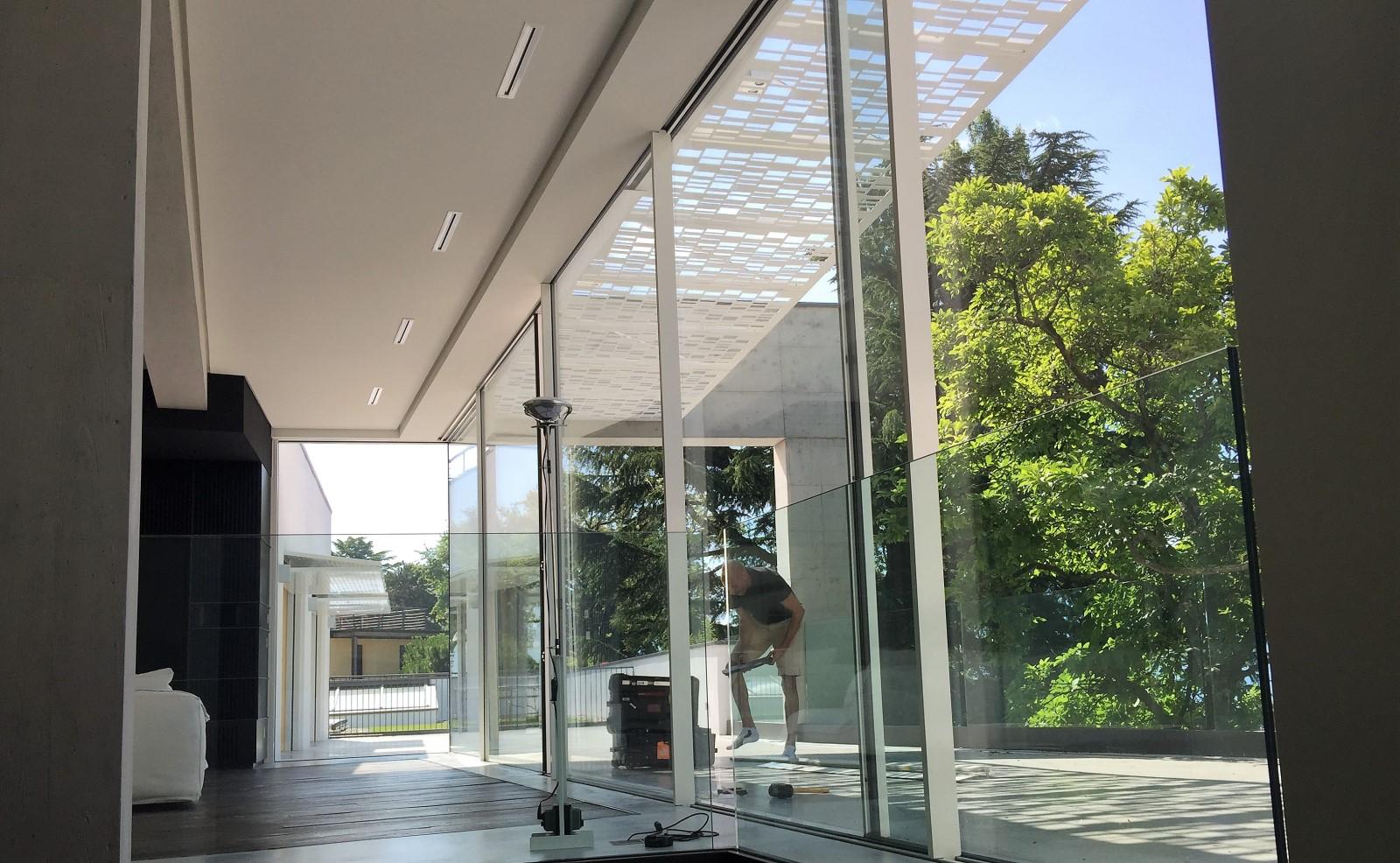 Baie minimaliste Sky-Frame
