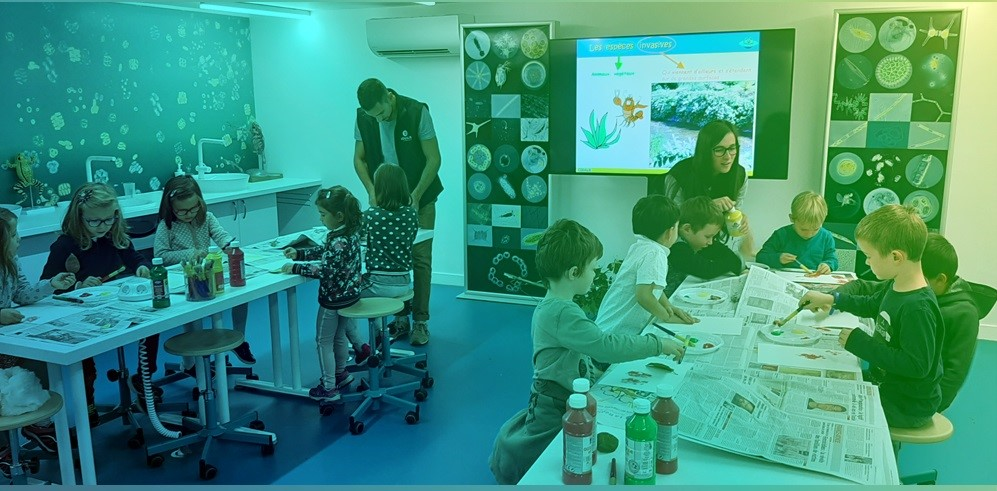 aqualis - atelier manuel à aqualis