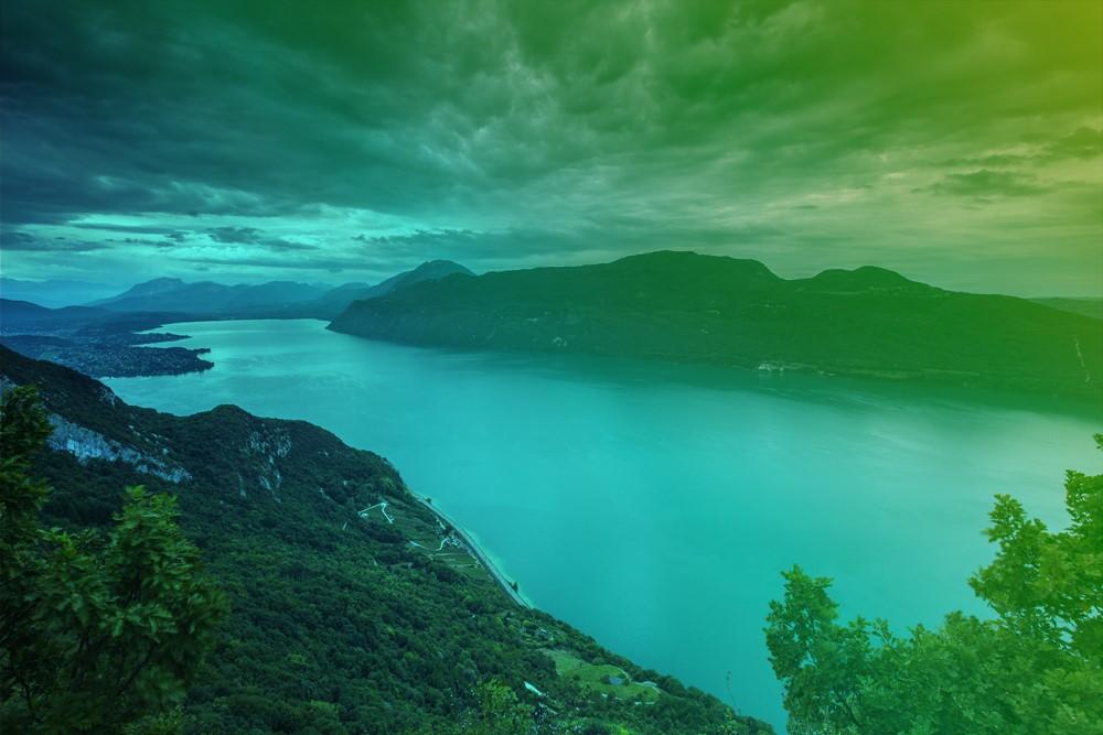 Le lac du Bourget, plus grand lac naturel de France