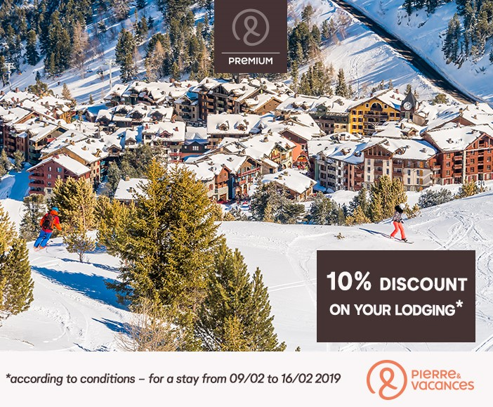 Ski in Les Arcs and book a luxury hotel in the french alps