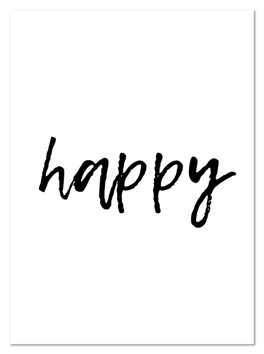 Ecriture - Happy