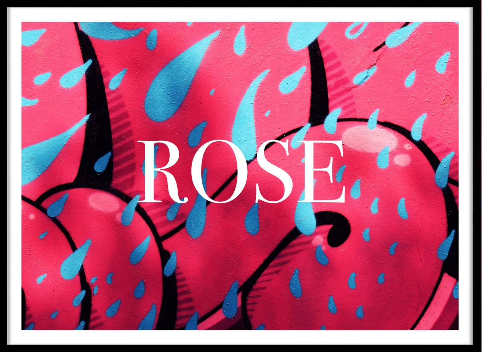 Street Art - Rose
