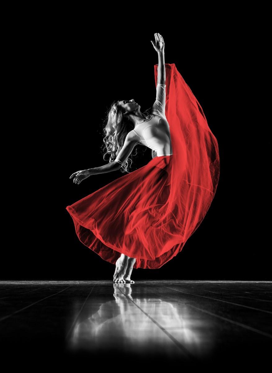 Sport - Danse Classique Rouge