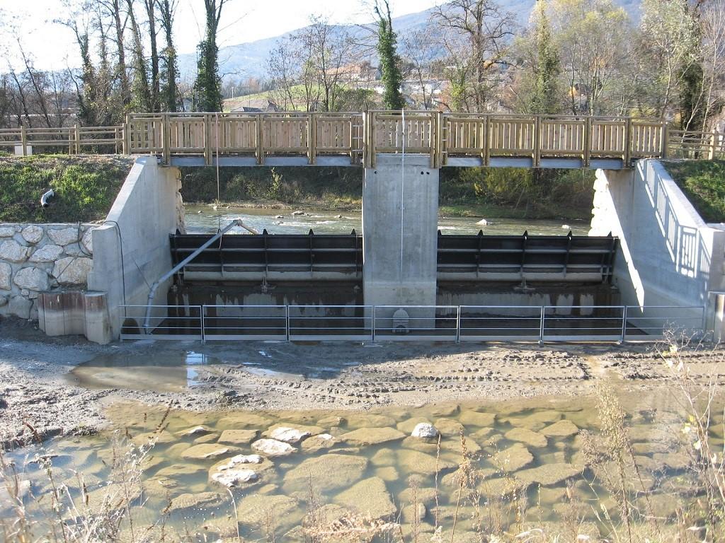Construction du système de vannes