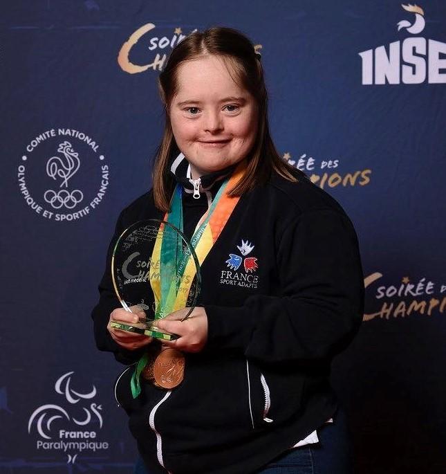 Camille FRISON Championne de tennis de table - © INSEP