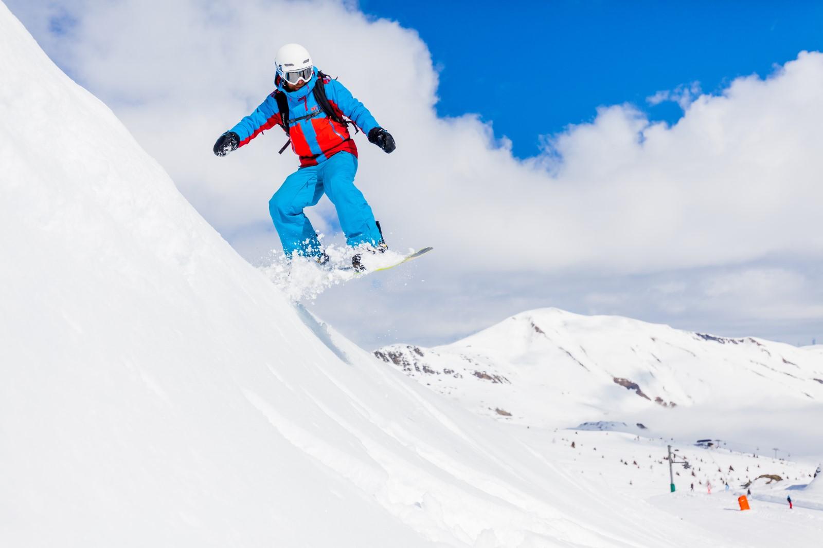 Snowboard - OT Les Sybelles