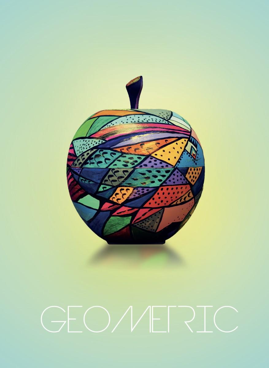 Nature - Pomme geometric