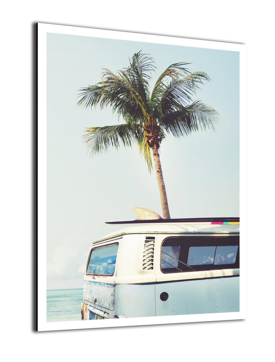 Nature - Van à la plage