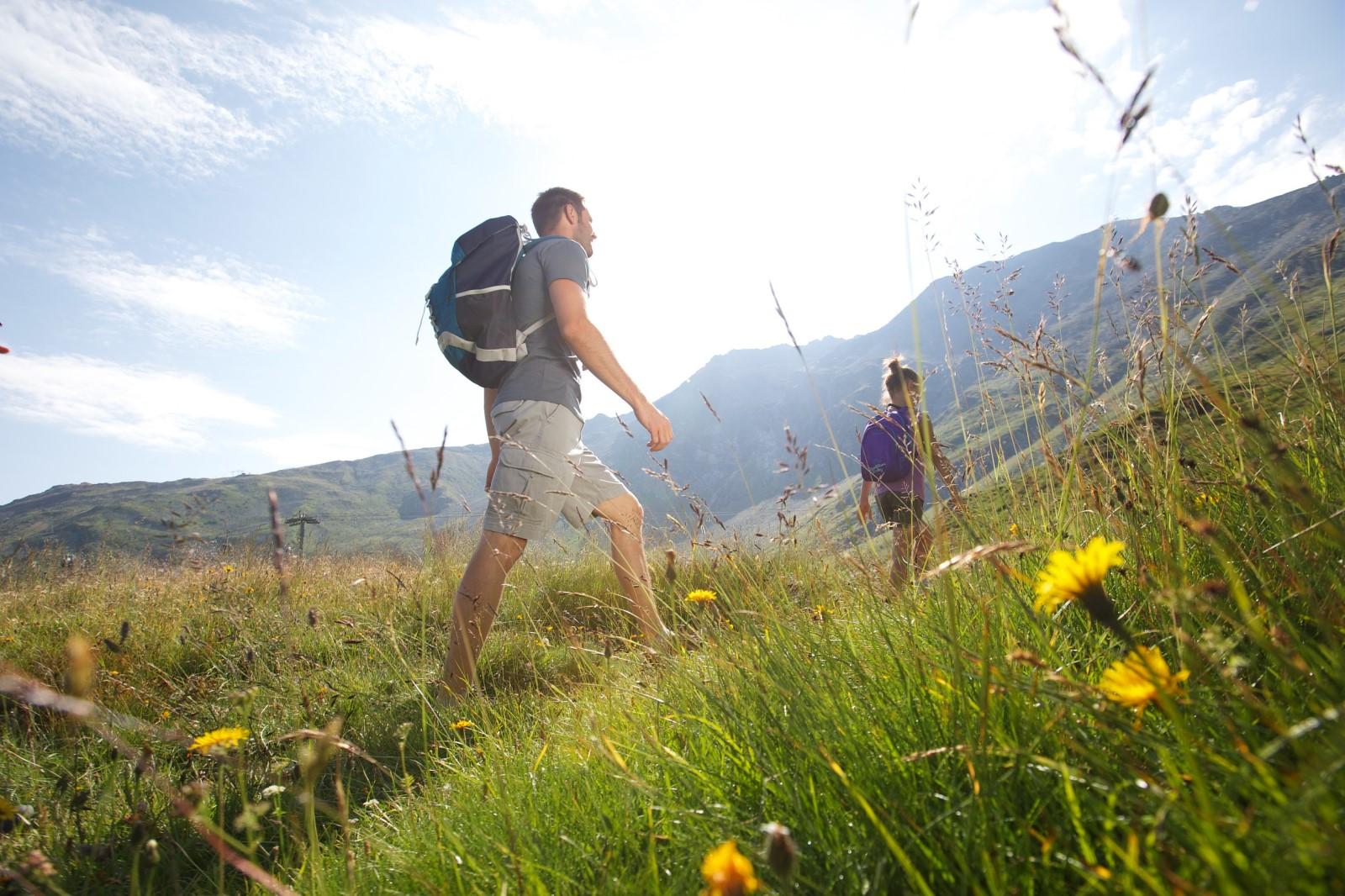 randonnée pédestre en Savoie, dans les Alpes