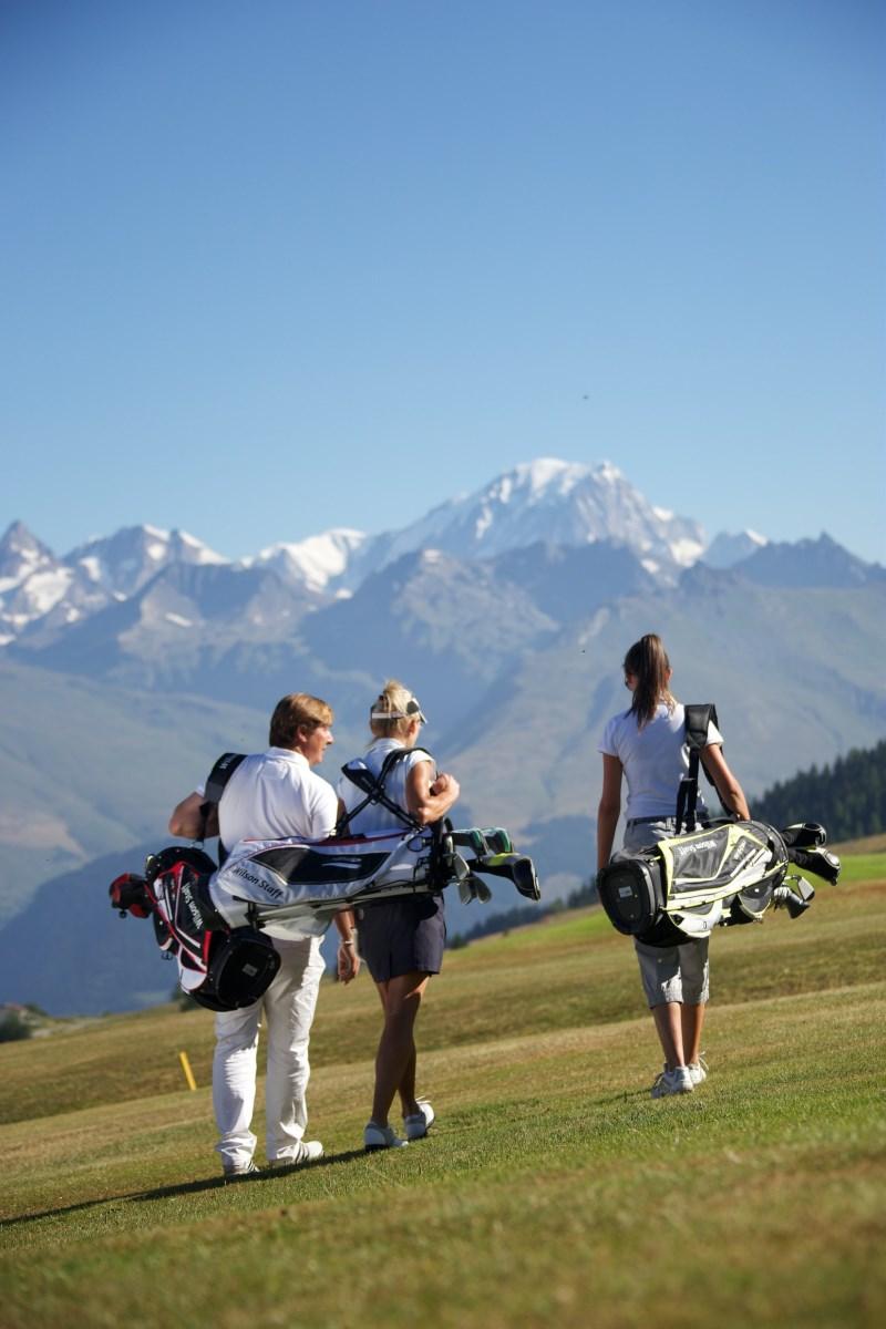 Practice de golf à Arc 1950 Le Village en Savoie