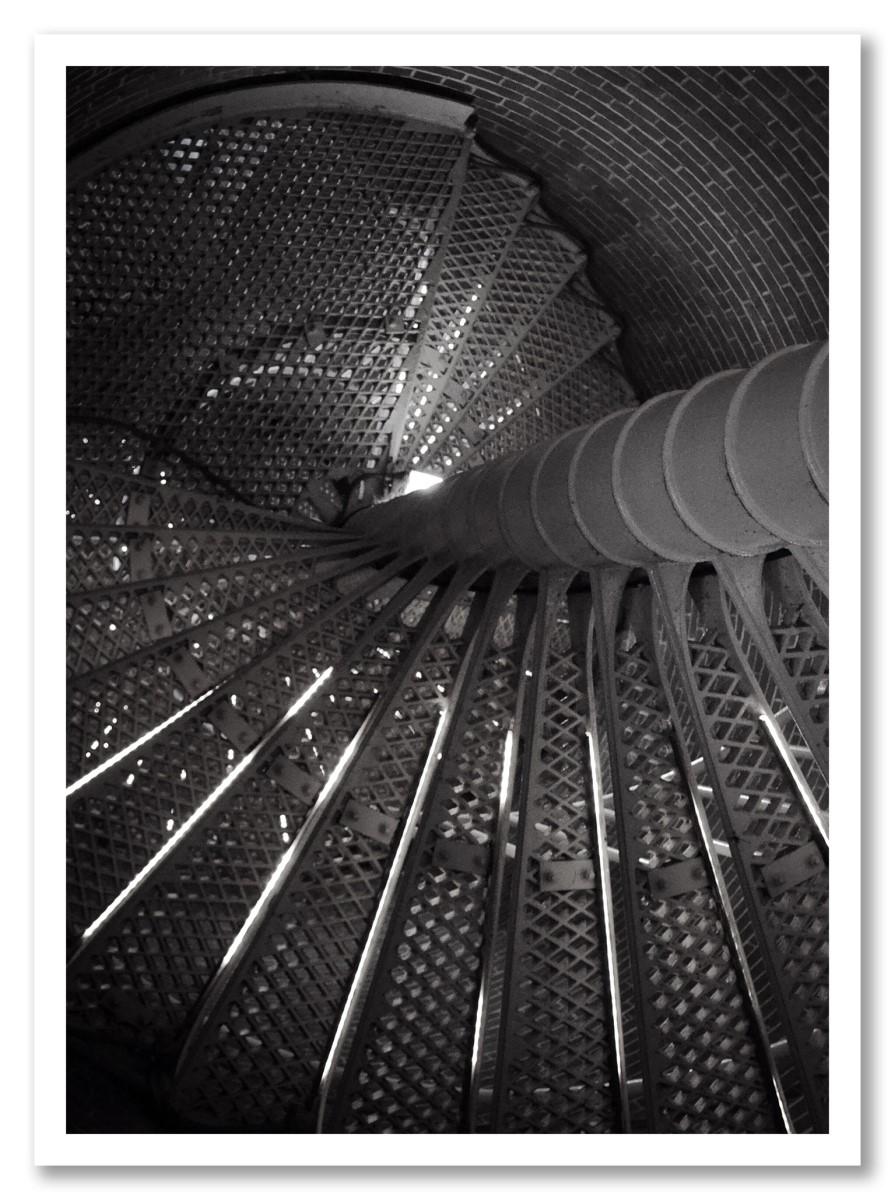Architecture - Escalier noir