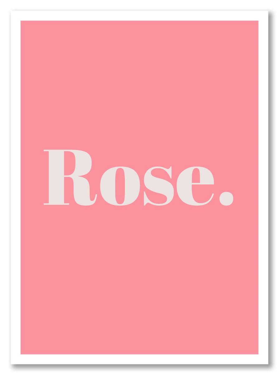 Pastel - Rose