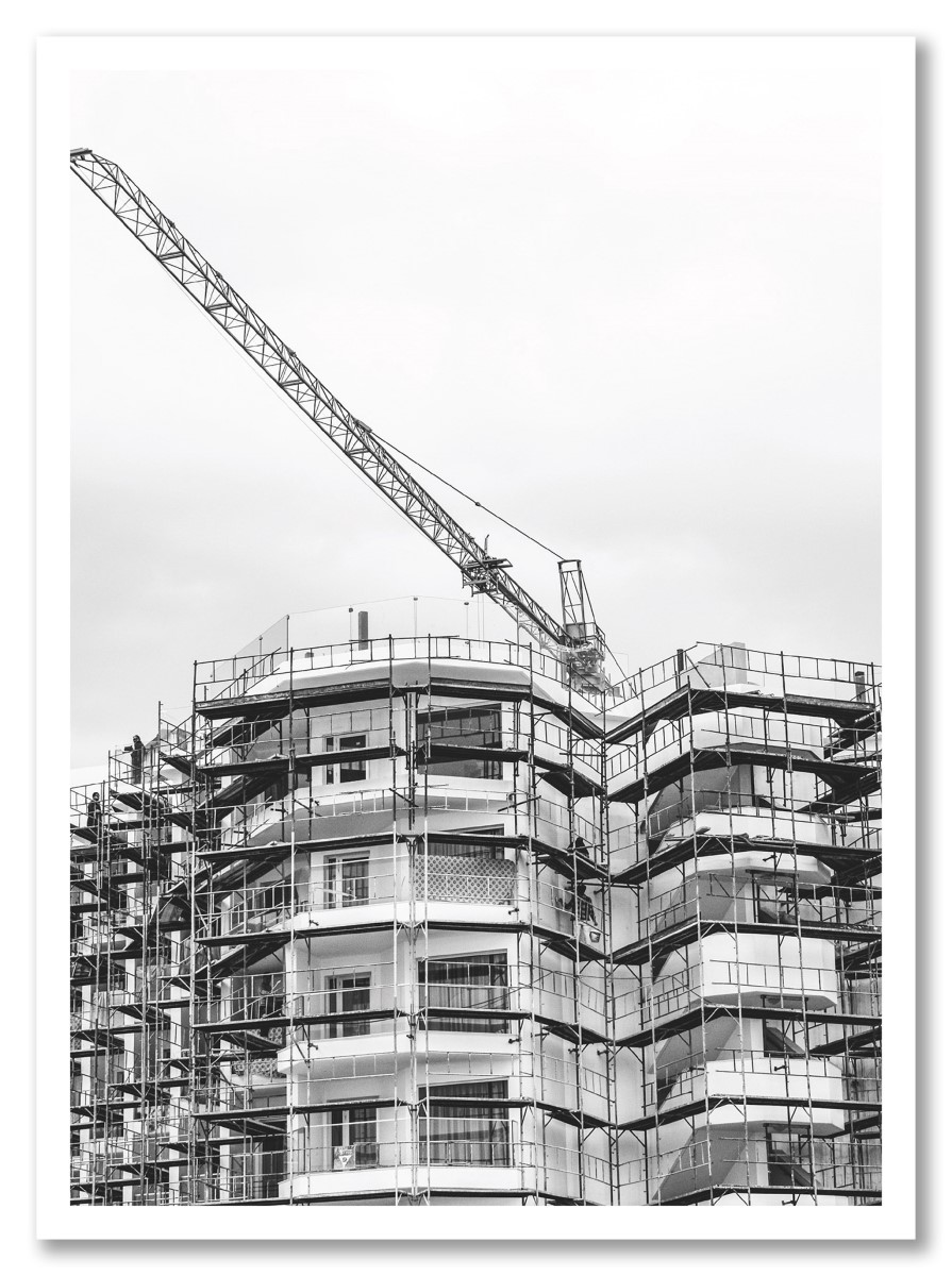 Architecture - Bâtiment en construction