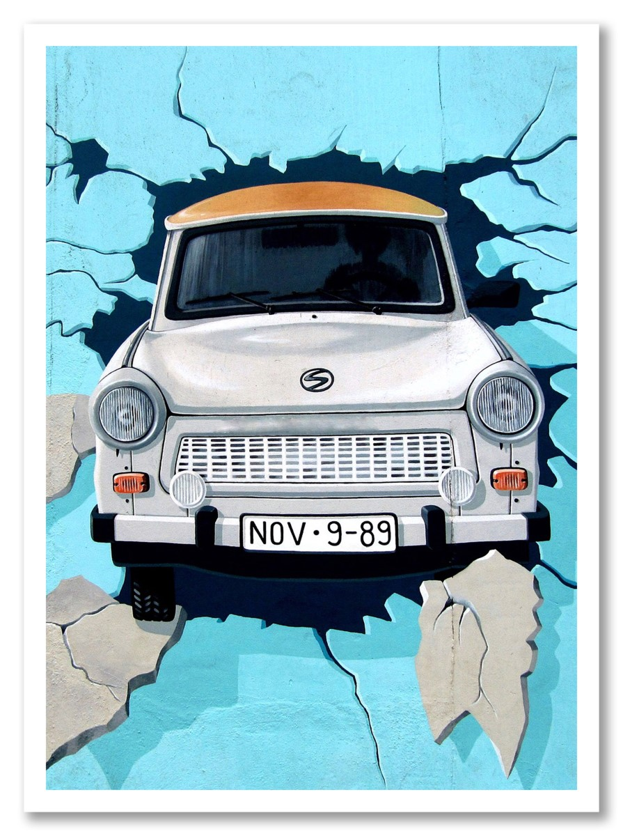 Street Art - Car Wall