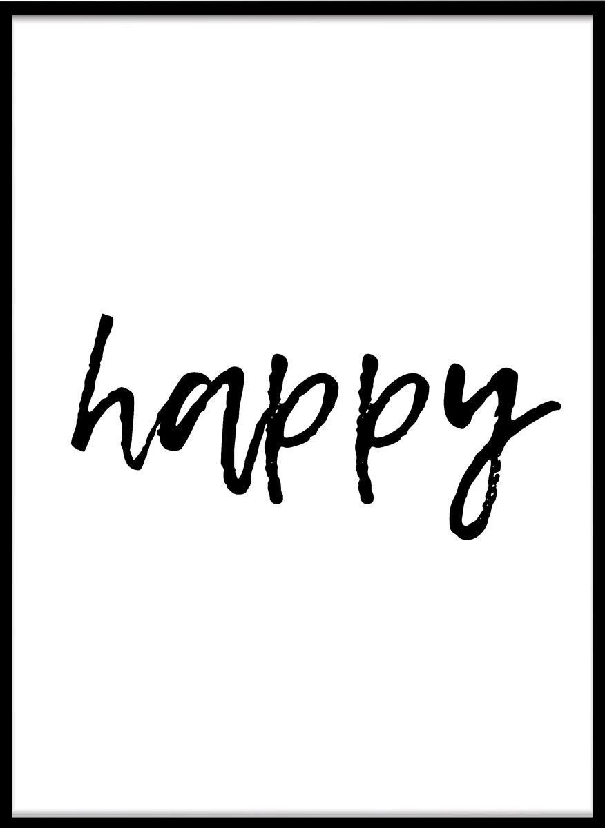 Ecriture - Happy