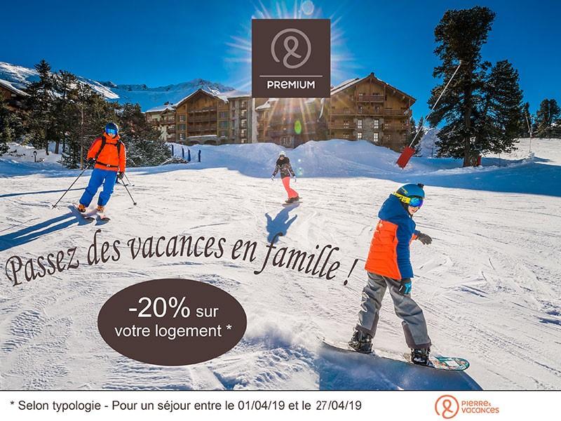 ski à Arc 1950 Le Village et Pierre & Vacances Premium