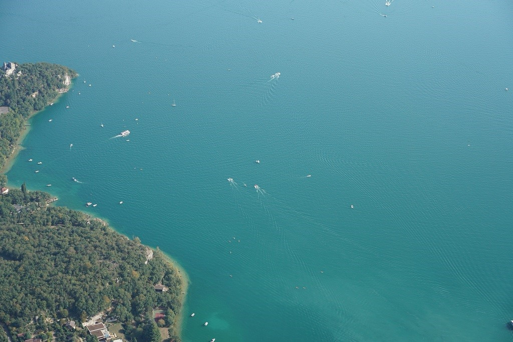 Les activités nautiques sur le lac du Bourget