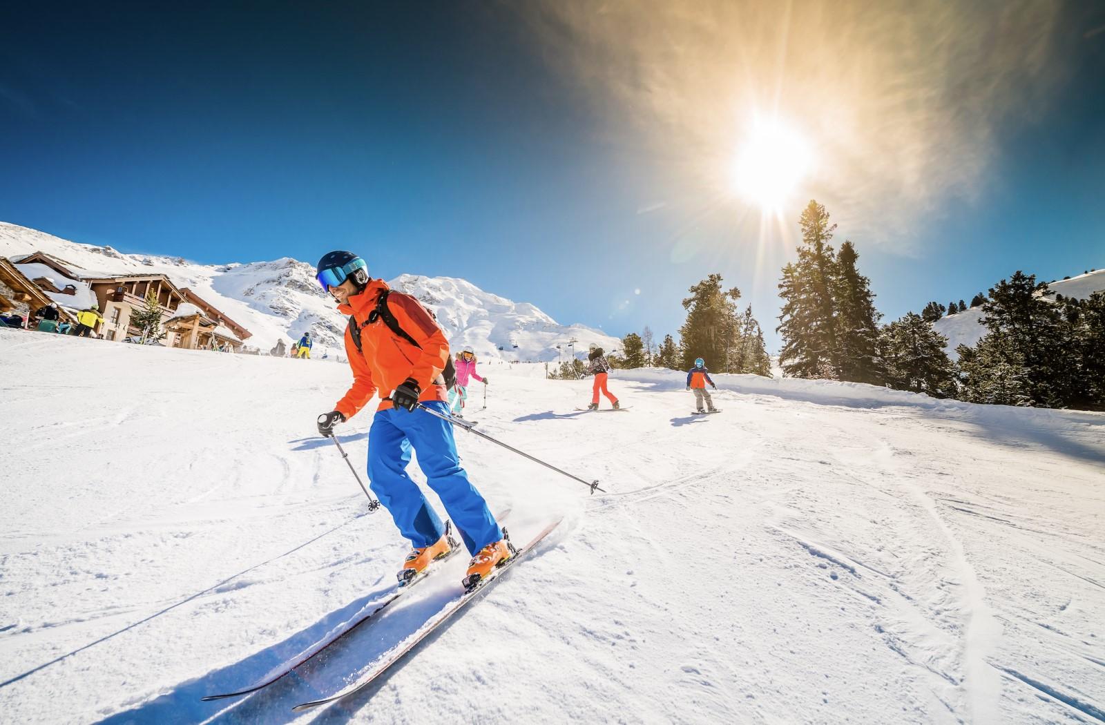 cours de ski pour tous niveaux aux Arcs avec l'école de ski spirit