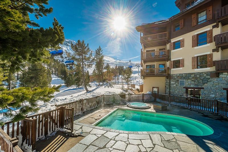 Residence luxe service 5* piscine ski montagne station arc 1950