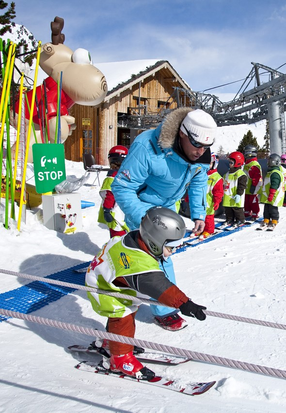 Premières glisses à Arc 1950 : Pour apprendre à skier à son rythme