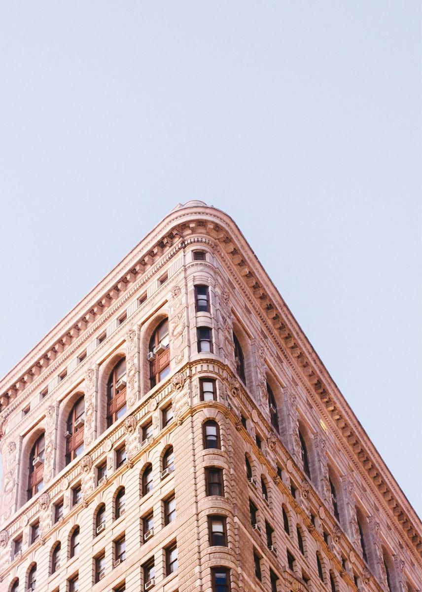 Industriel - Flatiron Building Rose