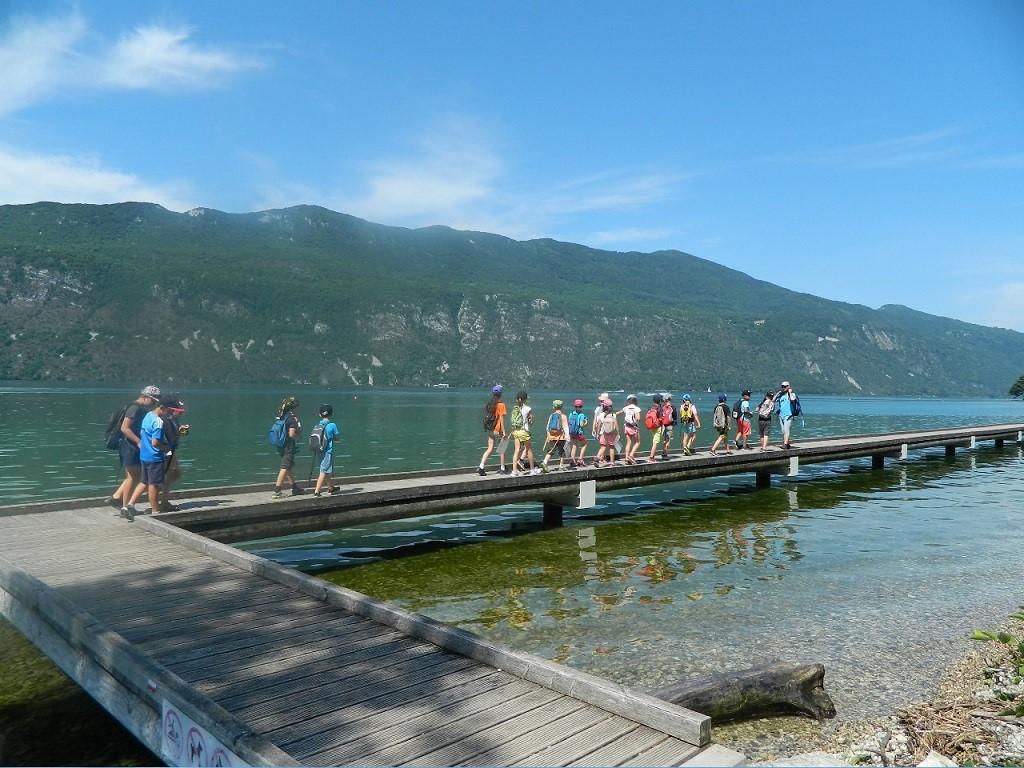 Découvrir le lac du Bourget à pieds