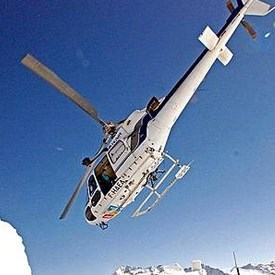 activities to try very near Arc 1950 - helicopter flight