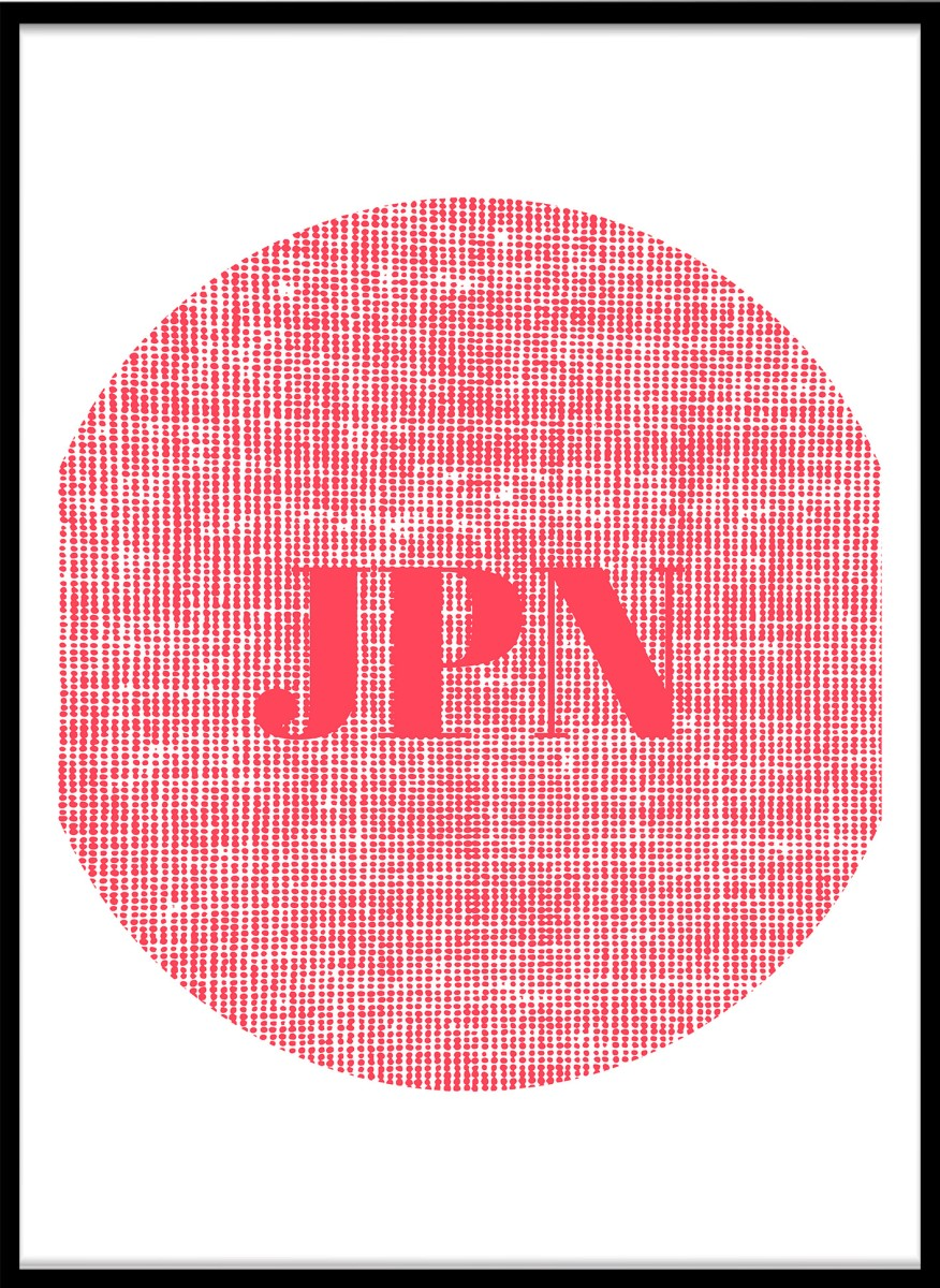 Pastel - Japon Rouge