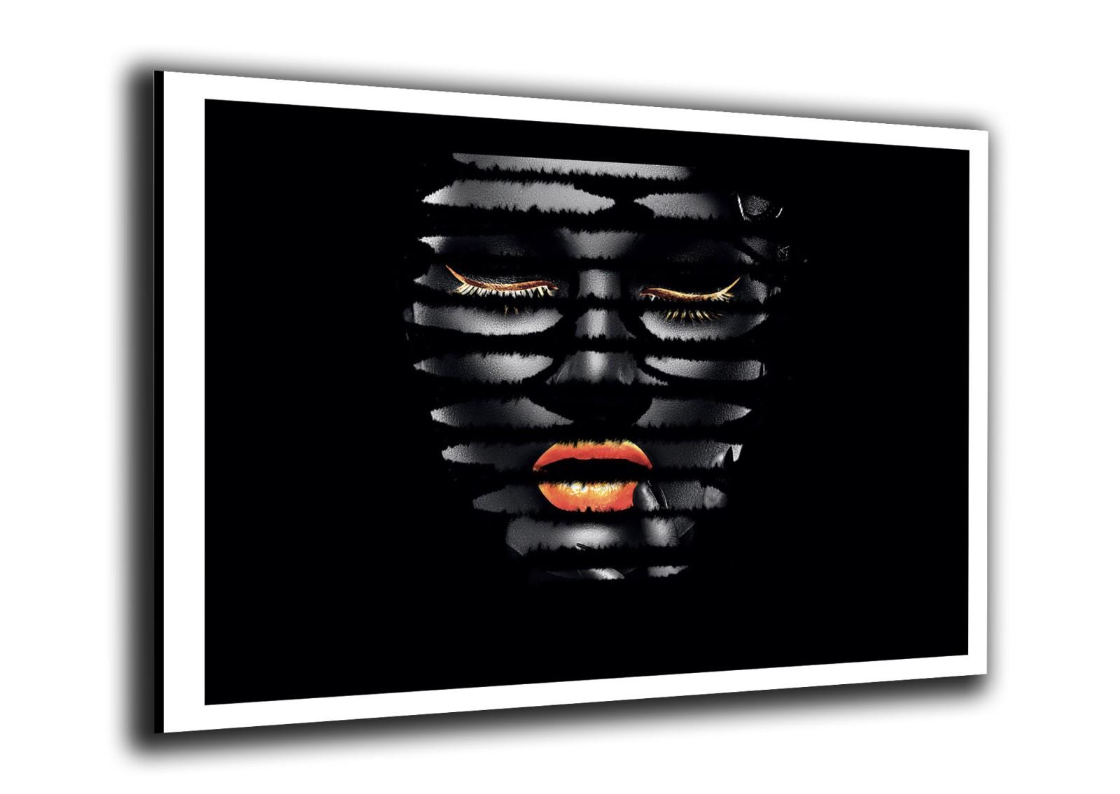 Portrait - Femme Rayures Couleur