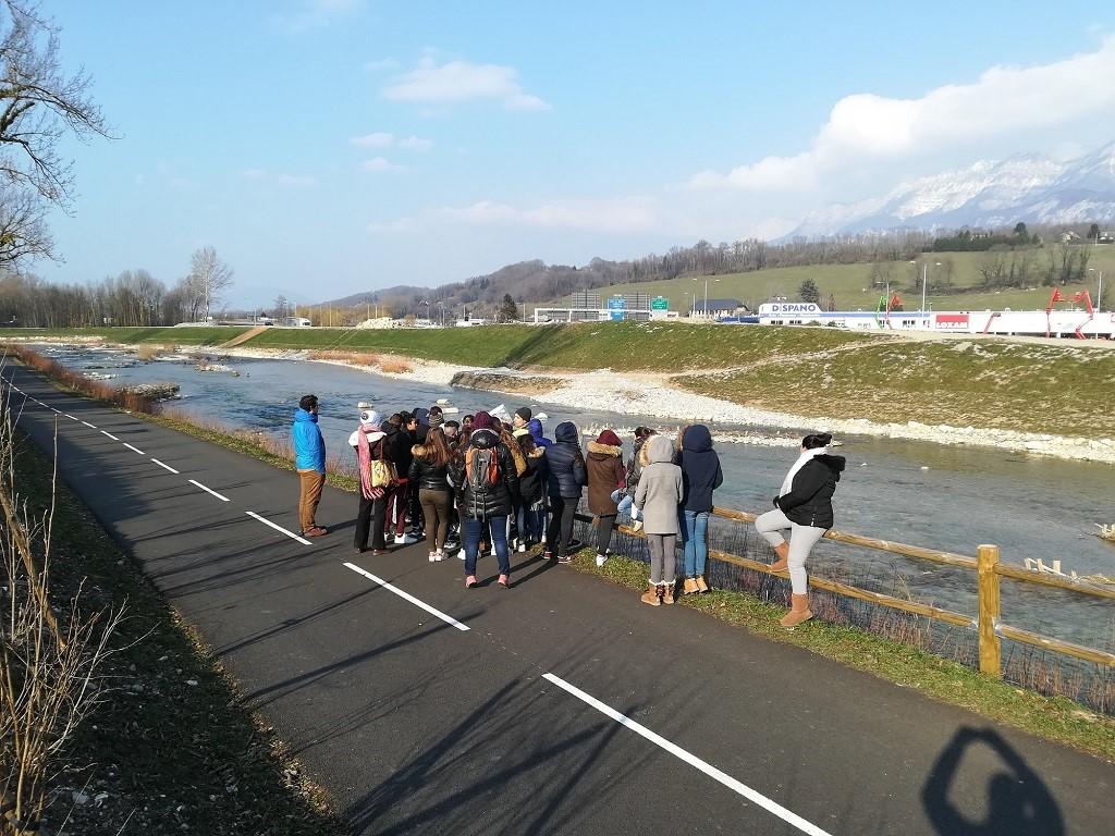 Visiter un chantier de restauration de rivière