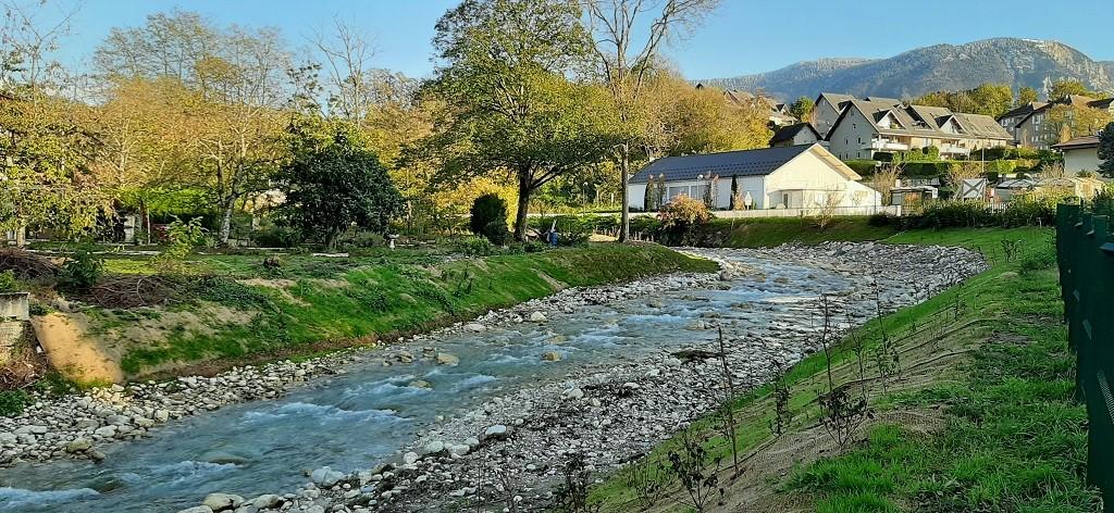 Restauration écologique du Sierroz à Grésy-sur-Aix