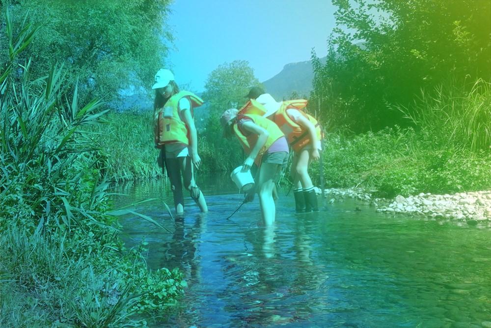 ©Aqualis - Pêche à pieds en quête de macrofaune