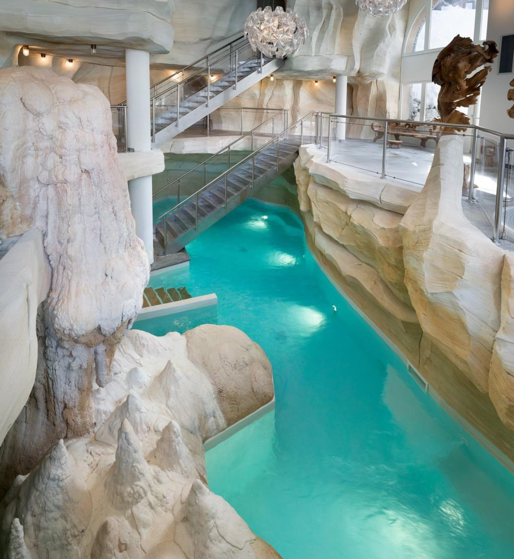 Deep nature spa arc 1950 arc 1950 for Bourg st maurice piscine