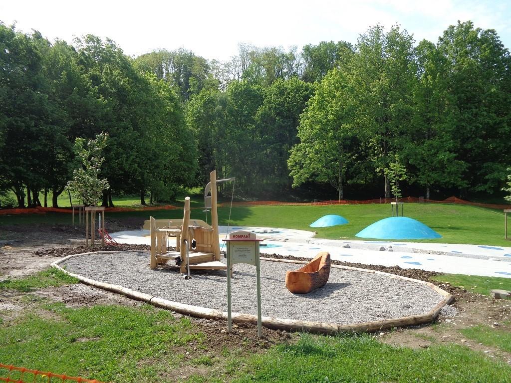 Un nouveau concept de parc de jeux aquatiques public